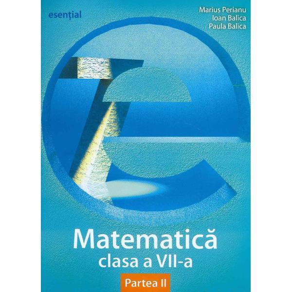 Esential matematica clasa a VII-a semestrul II