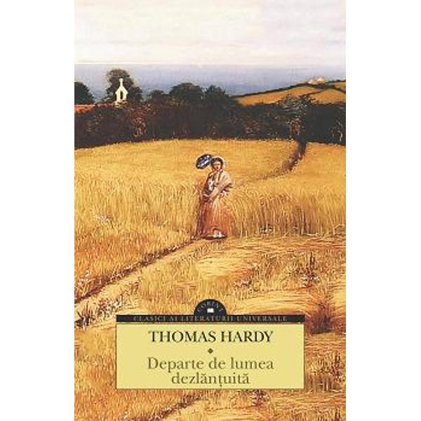 """""""La jum&259;tatea epocii victoriene într-o perioad&259; de avânt a economiei liberale când Anglia devenise prima putere industrial&259; a lumii Thomas Hardy reconstituie cu nostalgie într-o cuprinz&259;toare fresc&259; romanesc&259; Remedii disperate 1871;Sub copacul p&259;durii"""