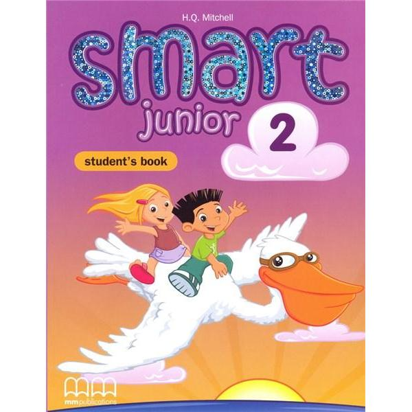 Smart Junior is an innovative six-level primary course in British EnglishSmart Junior is a brand new primary course that follows the modular approach and the requirements of the Common European Framework of Reference
