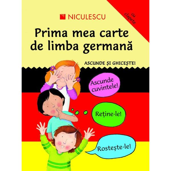 Prima mea carte de limba germana Ascunde si ghiceste