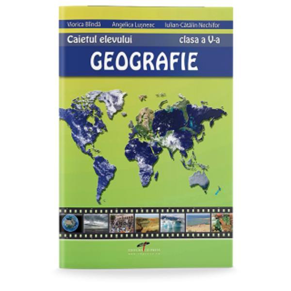 Geografie clasa a V a caietul elevului