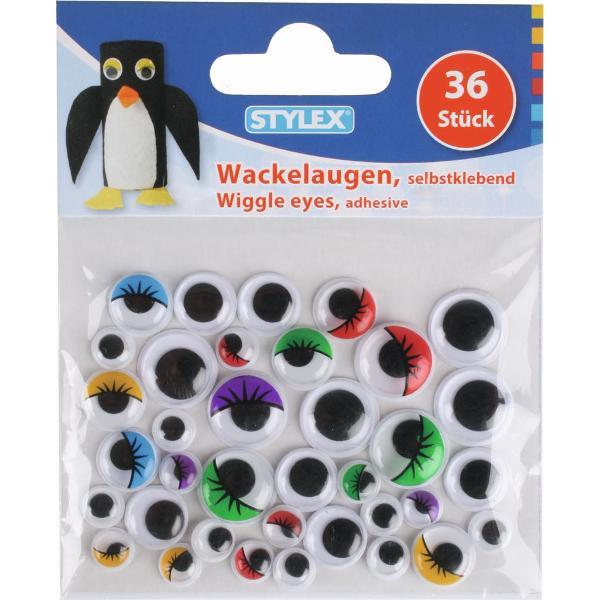 Set ochi miscatori autoadezivi 36 buc 46455