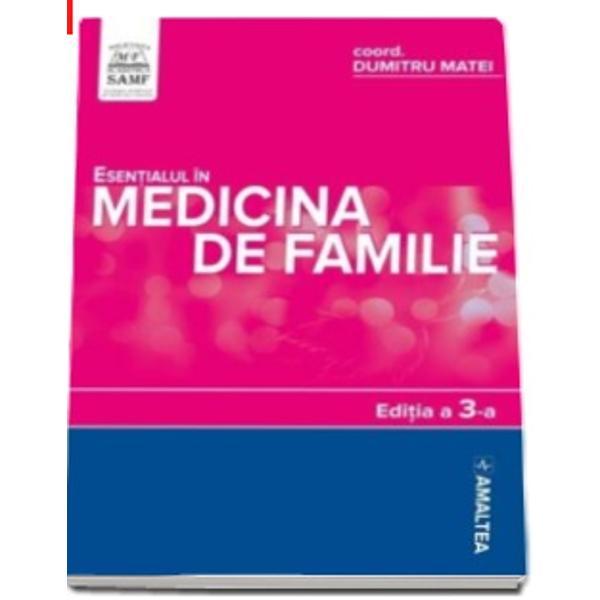 """Lansata la CNMF 2016 a III-a editie a lucrarii """"Esentialul in Medicina de Familie"""" contureaza conceptul de medicina preventiva prin abordarea multidisciplinara a patologiei care sa permita prevenirea diagnosticul precoce si tratamentul bolnavului""""Tot mai multe specialitati considera ca bolile cronice netrasmisibile nu pot fi controlate cu mijloacele de"""