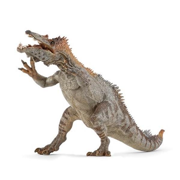 FigurinaDinozaur Baryonyxpoate fi o jucarie educationala pentru copii dar si o piesa de colectie pentru pasionatii fara varstaJucaria nu contine substante toxiceDimensiune  34x16x13 cmVarsta 3