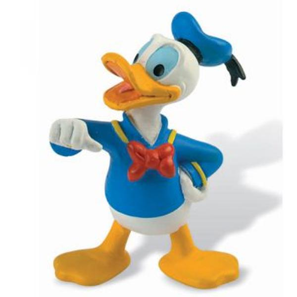 Figurina jucarie reprezentand personajul Donald Ratoiul    Detalii foarte asemanatoare cu cele reale    Figurina are un colorit