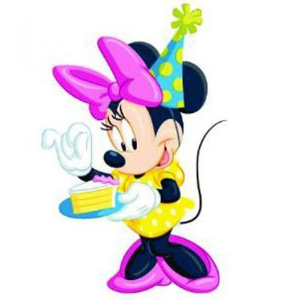 Figurina jucarie reprezentand personajul din desene animate Minnie Mouse     Detalii foarte asemanatoare cu cele reale    Figurina are