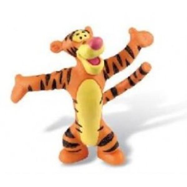 Figurina jucarie reprezentand un tigru    Detalii foarte asemanatoare cu cele reale    Figurina are un colorit natural executat