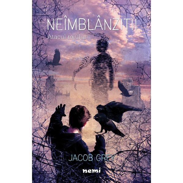 Atacul roiuluieste al doilea volum al seriei fantasy pentru copiiNEÎMBLÂNZI&538;II continuarea romanuluiB&259;iatul care vorbea cu corbiiSinistrul Spinning