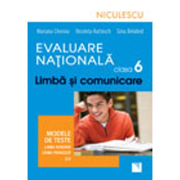 Aceast&259; lucrare se adreseaz&259; elevilor care se preg&259;tesc pentrusus&355;inerea Evalu&259;rii Na&539;ionale de la sfâr&351;itul clasei a VI-a Modelelede teste propuse de autoare sunt construite transdisciplinar &351;i au cascop evaluarea abilit&259;&355;ilor de în&355;elegere &351;i explorare a unor texte înlimba român&259; &351;i în limba francez&259; abordând teme specifice elevilor declasa a