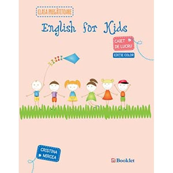English for kids clasa 0 editie color