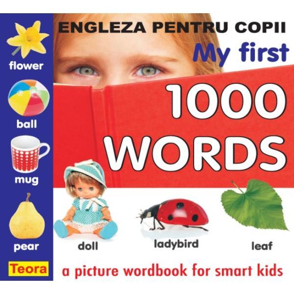 Un dic&355;ionar ilustrat conceput special pentru copiii care înva&355;&259; limba englez&259;Con&355;ine peste 1000 de ilustra&355;ii color deosebit de sugestive grupate tematic cu ajutorul c&259;rora copiii î&351;i însu&351;esc rapid cuvinte din vocabularul de baz&259;Primele 1000 de cuvinte în limba englez&259; se înva&355;&259; u&351;or &351;i cu pl&259;cere urm&259;rind aceast&259; carte
