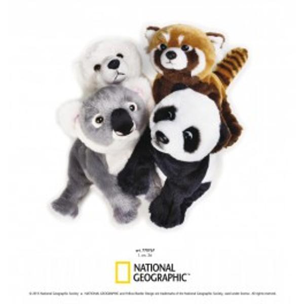 Jucarie din plus National Geographic Pui urs salbatici 26 cmLumea ursuletilor este fascinanta prin mamiferele care o populeazaUrsuletul polarpandakoala sau un panda rosu va pot intregi colectia de animalute din colectia National GeographicSuprafata este lavabilap