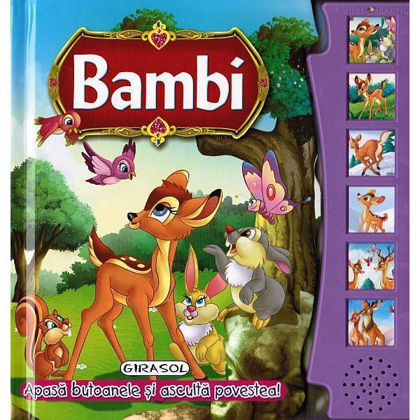 Citeste si asculta - Bambi