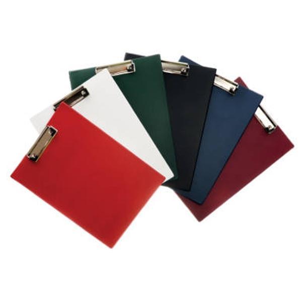 Clipboard simplu A4;culori disponibile alb albastru bordo negru ro&537;u verde