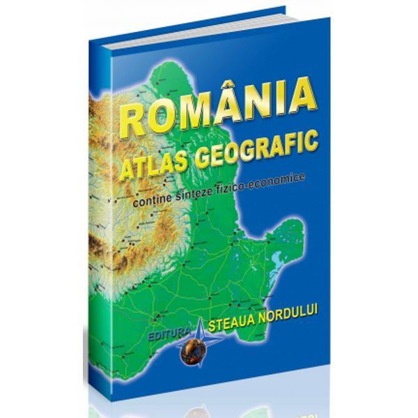 Atlasul Romaniei este destinat tuturor celor ce doresc s&259;-&537;i însu&537;easc&259; cuno&537;tin&539;e de geografie general&259; a RomânieiComponent al unui serial geografic de anvergur&259; în redac&539;ia de geografie a Editurii Steaua Nordului atlasul de fa&539;&259; se vrea a fi o publica&539;ie care s&259; însumeze nu atât caracterele componentelor structurii geografice cât mai ales s&259; contureze personalitatea