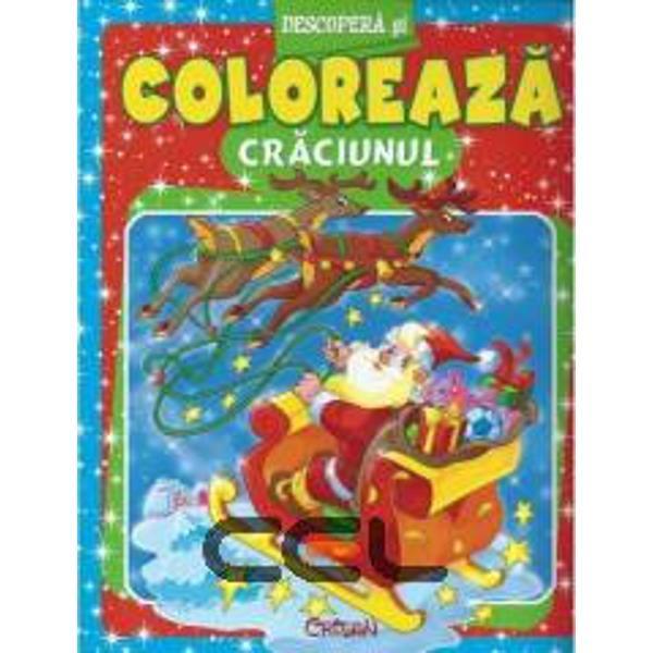 Carte interactiva de colorat