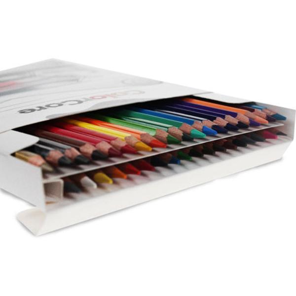 Creioane colorate Set 36 culori Diametru grif 40mmSetul mai este completat cu creion grafit cu duritatea HB si diametrul 22mmNu sunt recomandate copiilorcu virsta sub 3 ani
