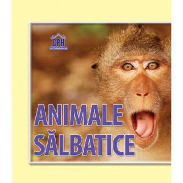 "Cartea evantai "" Animale salbatice"" se adreseza copiilor mici care invata sa recunoasca si sa deosebeasca animalele salbatice Fiind o carte cartonata cu imagini frumoase este recomandata si copiilor care abia incep sa vorbeasca"