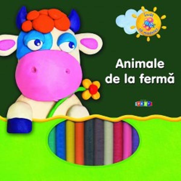 Animale de la ferma Modelez plastilina