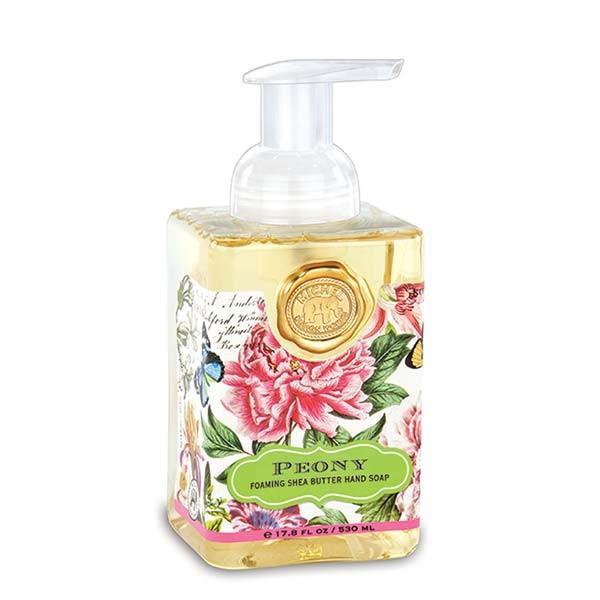 Sapun lichid spumaSapunul contine aloe vera si este imbogatit cu unt de sheaCatifeleaza si hidrateaza pieleaAroma bujori rozGramaj530 ml