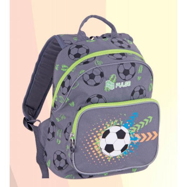 Rucsac Junior PulseModel FotbalDimensiuni33x26x15cmCod produsX20686Material poliester 600dCatarame NIFCOCheite fermoar metaliceFermoare SBSLogo Brodatp stylecolor