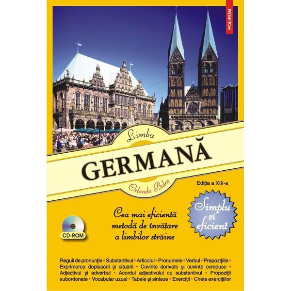 Destinat&259; deopotriv&259; elevilor studen&355;ilor &351;i autodidac&355;ilorLimba german&259; Simplu &351;i eficientprezint&259; într-un limbaj accesibil &351;i într-o succesiune logic&259; principalele elemente de gramatic&259; german&259; pe care le ilustreaz&259; cu numeroase exemple din