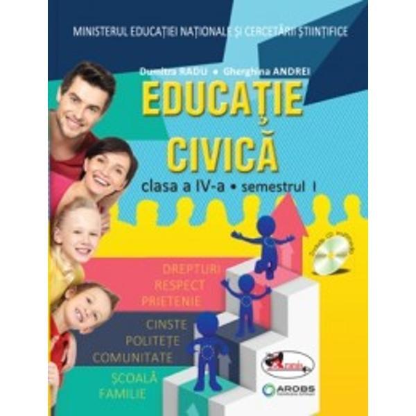 Manual de educatie civica pentru clasa a IV a RaduAndrei