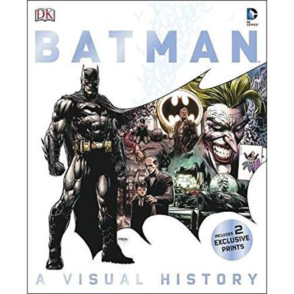 Batman A Visual History follows the DC Comics Super Hero from his 1939 beginnings as a crime-fighting vigilante to his present status as a worldwide cultural icon approaching his 75th anniversaryThe book celebrates Batmans greatest stories and the writers and artists that created them It also charts the careers of the Super Heroes and super-villains —
