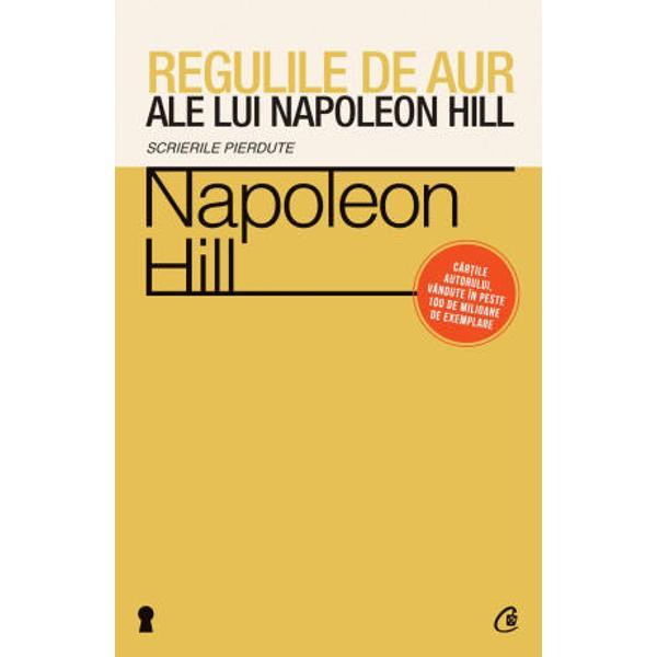 Pe parcursul vietii lui Napoleon Hill i-a indemnat in permanenta&131; pe oameni prin scrierile si actiunile sale sa&131; devina&131; cat mai buni cu putinta&131; El este primul si cel mai faimos autor de ca&131;rti motivationale iar autorii renumiti din zilele noastre care au scris ca&131;rti din acelasi domeniu ii datoreaza&131; enorm lui Hill atat in ceea ce priveste valoarea cat si eficienta multora dintre ideile lorVolumul de fata&131; cuprinde articolele redactate de