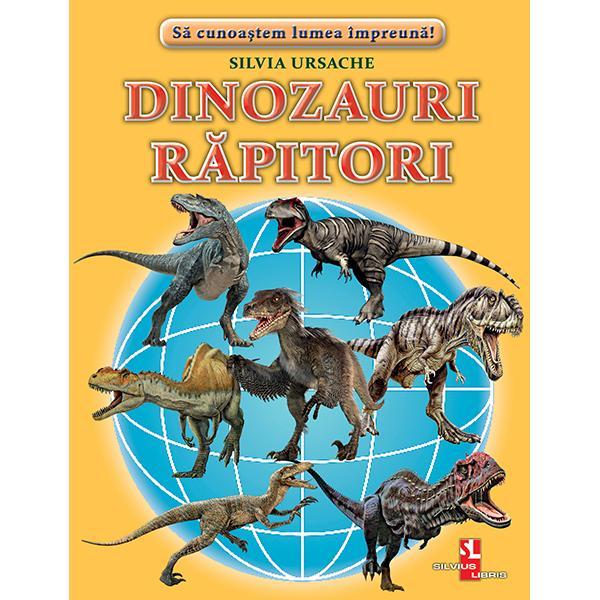 Un set de fise cartonate cu imagini fotografice color si texte enciclopedice pentru copiii de gradinita si cei din scoala primara Acest set contine 16 cartonase cu imagini color si texte informative Aici vei intalni• Tiranozaur • Majungazaur • Giganotozaur • Carharodontozaur • Criolofozaur • Allozaur • Tyranotitan • Mapuzaur • Megalozaur
