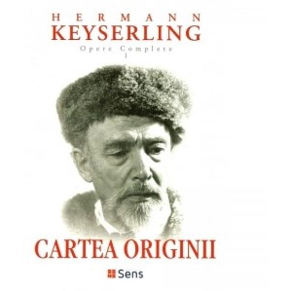 Cartea originii Opere complete volumul I