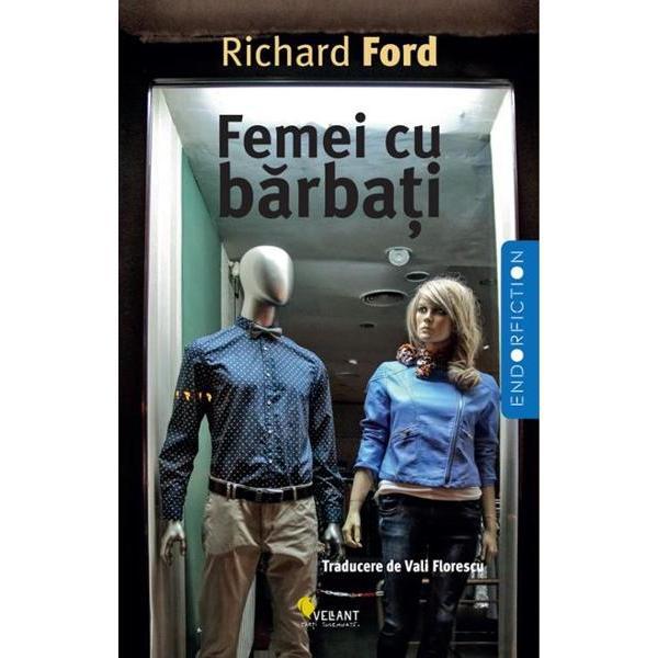 """Nimic din ceea ce tine de pasiune si vulnerabilitate nu-i este strain lui Richard Ford unul dintre marii maestri ai prozei americane Cele trei povestiri """"lungi"""" din Femei cu barbati se invart in jurul iubirii romantice si al formelor ei incomplet digerate punand reflectorul pe triunghiuri amoroase casatorii ratate tati si fii idealizari si bruste caderi in realitate Ford isi surprinde protagonistii in momentul adevarului indelung dar imposibil de evitat o plimbare in"""