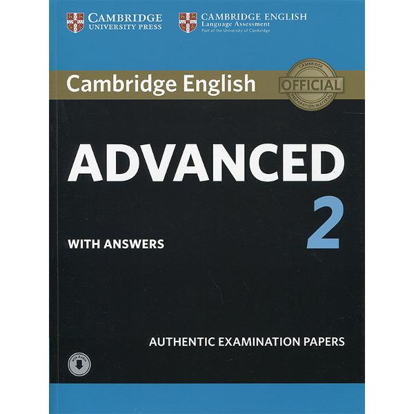 Four official examination papers for the Cambridge English Advanced CAE examination from Cambridge English Language AssessmentThese examination papers for the Cambridge English Advanced CAE exam provide the most authentic exam preparation available allowing candidates to familiarise themselves with the content and format of the exam and to practise useful exam techniques Downloadable audio contains the listening tests material The Students Books and Audio CDs are also