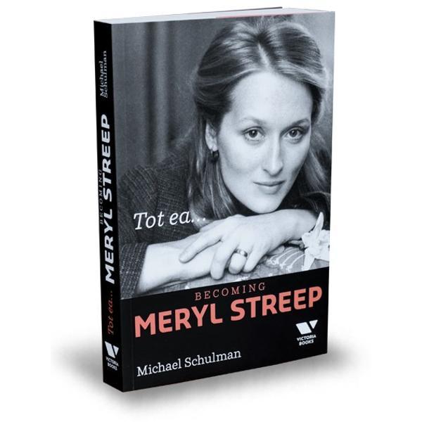 """Portretul unei femei al unei ere al unei profesii prima biografie solid documentat&259; a lui Meryl Streep – """"Doamna de fier"""" a actoriei nominalizat&259; la nou&259;sprezece Oscaruri &537;i distins&259; cu trei – care îi exploreaz&259; începuturile &537;i încerc&259;rile de a în&539;elege iubirea feminismul &537;i propriul talent uluitorTot ea este o perspectiv&259; intim&259; asupra"""