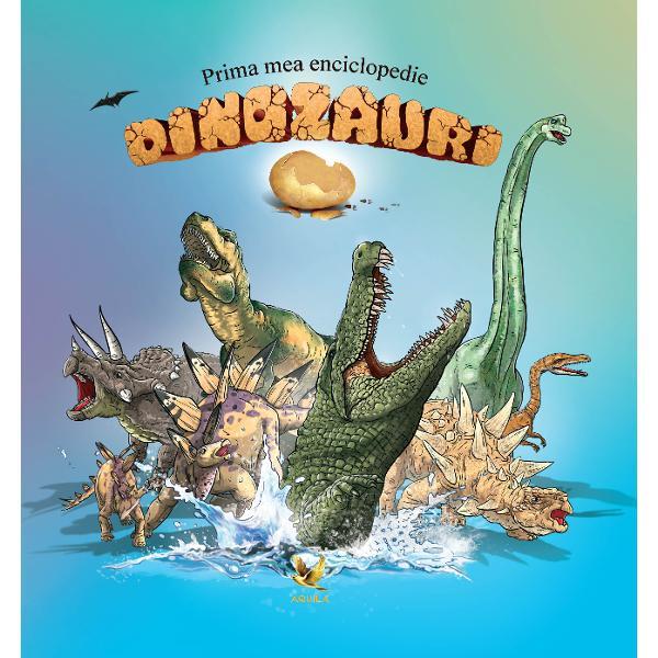 Prima mea enciclopedie Dinozauri îi va introduce pe cei mici în lumea dinozaurilor Ei vor afla care este talia celui mai mare dinozaur cu ce se hr&259;neau ace&351;tia &351;i multe altele Vocabularul de la final vine ca o completare a întregii enciclopedii &351;i explic&259; unele cuvinte întâlnite de-a lungul celor 48 de pagini  span stylecolor rgb51 51 51; font-family sans-serif Arial Verdana