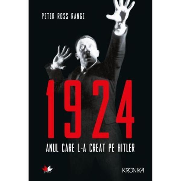 Inainte de venirea la putere a lui Hitler in Germania a existat un an 1924 Acesta a fost anul transformarii finale a lui Hitler in autoproclamatul salvator si in conducatorul infailibil care avea sa interpreteze si sa distorsioneze traditiile istorice germane pentru a-si sustine viziunea asupra celui de-al Treilea Reich Tot ce va urma – adunarile si revoltele punerea in practica a unei idei malefice catastrofale – se va cristaliza intr-un singur an definitoriu 1924 a fost