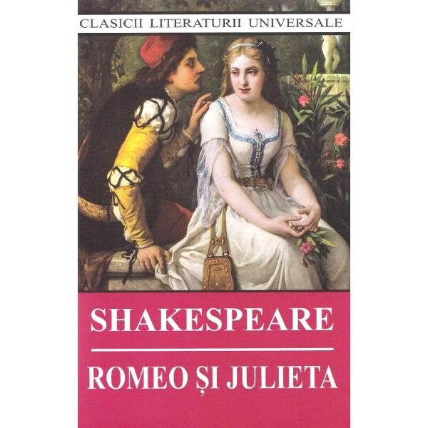 William Shakespeare 1564-1616 dramaturg si poet englez este unul dintre numele cele mai importante al literaturii universale Actor apoi proprietar asociat al teatrului Globe Shakespeare a devenit celebru in epoca prin piesele sale si s-a retras in plina glorie la Stratford-upon-Avon orasul sau natal Romeo si Julieta probabil cea mai populara poveste de dragoste din istoria lumii scrisa in anul 1594 este o tragedie in cinci acte care are la baza o poveste reala