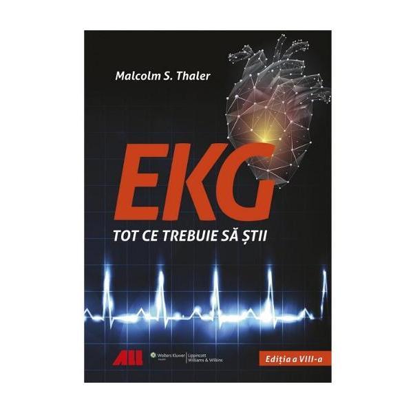 Cea mai atractiva si usor de citit carte de EKG pe care ti-o poti imaginaTitlul este cat se poate de sugestiv lucrarea de fata iti ofera tot ce ai nevoie pentru a interpreta EKG-uri repede si precisStudentii la medicina dar si medicii de la toate nivelurile care trebuie sa interpreteze EKG-uri in activitatea lor de zi cu zi pot rasufla usurati Cu acest volum in fata ai certitudinea ca citesti cel mai actual clar si precis text la care ai putea spera Hipertrofia si