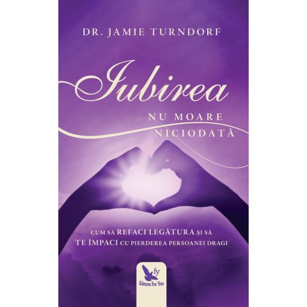 Renumita terapeut&259; &537;i autoare Dr Jamie Turndorf împ&259;rt&259;&537;e&537;te povestea uimitoare a reconect&259;rii spirituale cu iubitul ei so&539; decedat binecunoscutul Emile Jean Pin Descoperind c&259; rela&539;iile nu se termin&259; odat&259; cu moartea Jamie î&537;i relateaz&259; remarcabila experien&539;&259; prin care so&539;ul ei i-a f&259;cut cunoscut&259; prezen&539;a lui continu&259; – &537;i iubirea lui