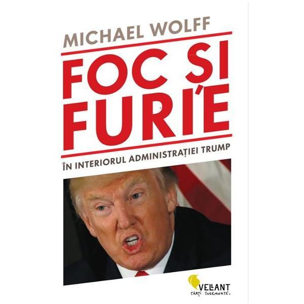 """Numarul 1 pe lista New York Times de book-selleruriAvand un extraordinar acces la Aripa Vestica a Casei Albe Michael Wolff dezvaluie ce s-a intamplat in culisele primelor noua luni ale cele mai controversate presedintii din vremurile noastre in Fire and Fury Inside the Trump White House""""De la Harry Potter incoace nicio alta carte n-a avut un asemenea succes""""- The Economist""""Nu este o carte Este cartea"""" – The Weekly Standardbr"""