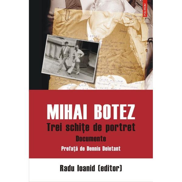 """""""Critic moderat al regimului comunist din România Mihai Botez a testat cu relativ succes limitele acestuia Dar disiden&355;a lui Botez care nu a fost imaculat&259; nu ar fi durat f&259;r&259; sprijinul guvernului SUA &351;i al Europei Libere Documentele accesibile în arhivele guvernamentale române&351;ti fragmentare &351;i relativ pu&355;ine sînt insuficiente reconstituirii parcursului s&259;u Evolu&355;ia lui Botez poate fi acum mai bine"""