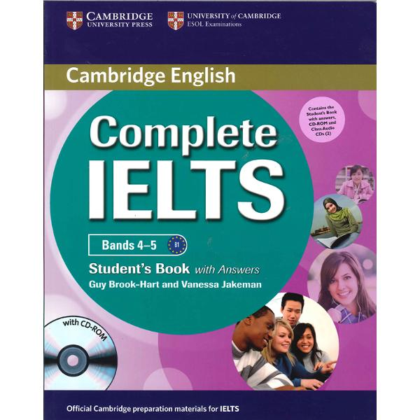 Complete IELTScombines the very best in contemporary classroom practice with stimulating topics aimed at young adults wanting to study at university The Students Pack consists of the Students Book with Answers with CD-ROM and the Audio CDs which contain all the material for the listening activitiesThe Students Book with Answerscontains 10 topic-based units which contains stimulating speaking activities to ensure that students gain