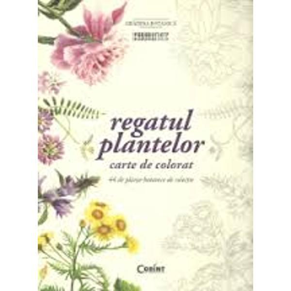 44 de planse botanice de colectieC&259;r&539;i de colorat pentru adul&539;i s-au mai f&259;cut dar niciuna nu a avut o poveste la fel de remarcabil&259; &537;i o tem&259; artistic&259; atât de relevant&259; pentru spa&539;iul nostru culturalLucrarea de fa&539;&259; cuprinde o superb&259; colec&539;ie de plan&537;e botanice cu valoare istoric&259; scoase la lumin&259; pentru prima dat&259; din arhiva Gr&259;dinii Botanice