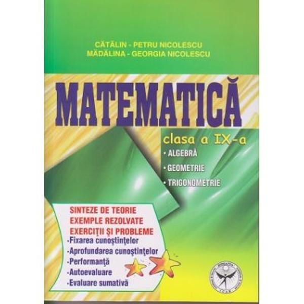 Matematica clasa IX