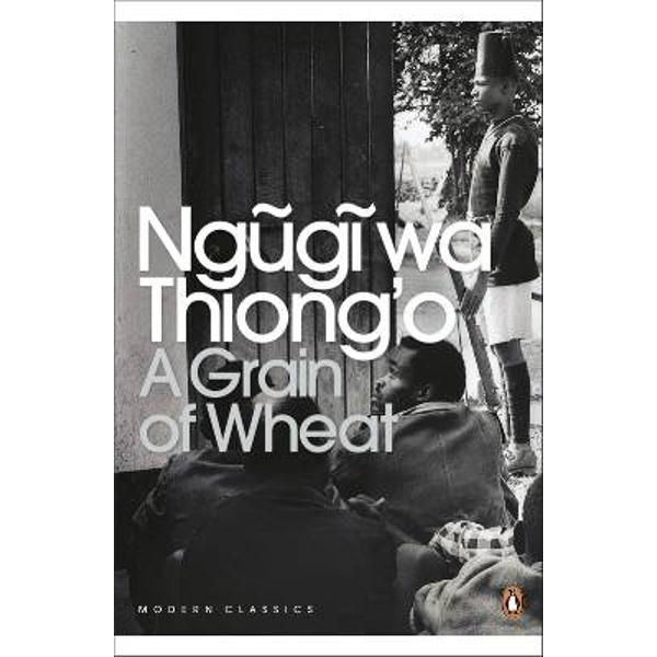 Originally published in 1967 Ngugis third novel is his best known and most ambitious work A Grain of Wheat portrays several characters in a village whose intertwined lives are transformed by the 1952-1960 Emergency in Kenya As the action follows the villages arrangements for Uhuru independence Day this is a novel of stories within stories a narrative interwoven with myth as well as allusions to real-life leaders of the nationalist struggle including Jomo Kenyatta At the centre of