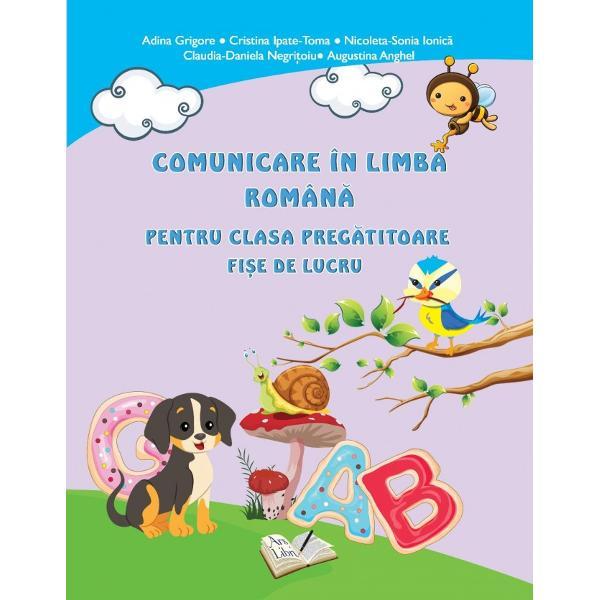 Comunicare in limba romana clasa pregatitoare Editura PrestigeCele mai interesante 20 de fise de lucru