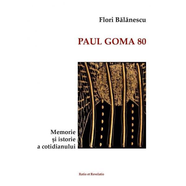 Cartea de fa&539;&259; reune&537;te texte scrise de istoricul Flori B&259;l&259;nescu reprezentanta editorial&259; a lui Paul Goma în România de-a lungul anilor 2006-2015
