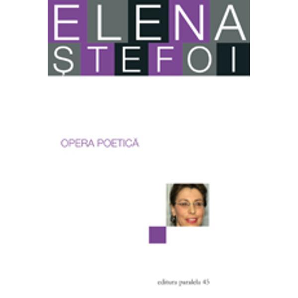 """În grupul protagonistelor optzeciste Elena &350;tefoi este cea mai pu&355;in """"imaginativ&259;"""" &351;i cea mai pu&355;in dispus&259; la fiziologizarea angoaselor dar în schimb cea mai iritat&259; moral &351;i cea mai potrivit&259; pentru transcrierea nud """"realist&259;"""" a nota&355;iilor &351;i pentru intelectualizarea afectelor Asta face ca poezia ei s&259; fie mai pu&355;in"""