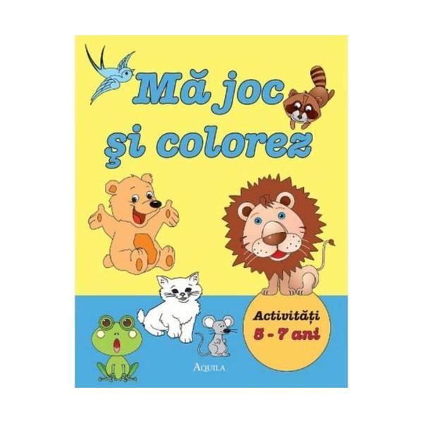 O carte adresata copiilor aflati la inceputul anilor de scoala 80 de pagini alb-negru cu activitati care ajuta