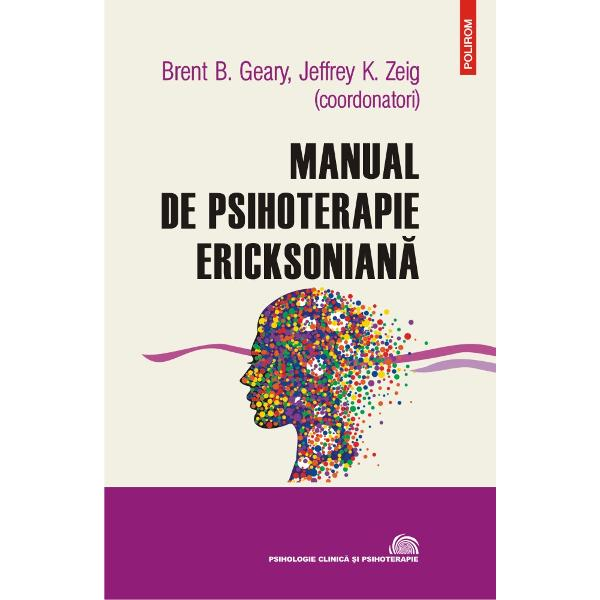 Volumul cuprinde studiile mai multor exper&355;i în domeniul terapiei ericksoniene &351;i surprinde influen&355;a enorm&259; a lui Milton H Erickson în ariile psihoterapiei &351;i hipnozei Coautorii profesori clinicieni analizeaz&259; numeroase probleme clinice &351;i prezint&259; terapii &351;i abord&259;ri specifice demonstrînd eficien&355;a metodelor &351;i tehnicilor ericksoniene precum controlul hipnotic al durerii sau g&259;sirea unor solu&355;ii